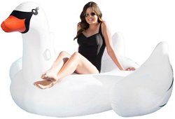 Poolmaster Jumbo Swan Float