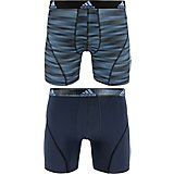 adidas Men's Sport Performance Boxer Briefs 2-Pack