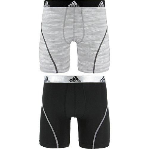 adidas Men's Sport Performance climalite Graphic Midway Underwear 2-Pack
