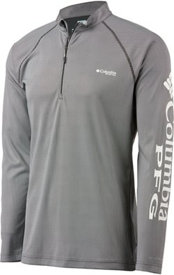 Columbia Sportswear Men's Solar Shade ZERO 1/4 Zip Fishing Shirt