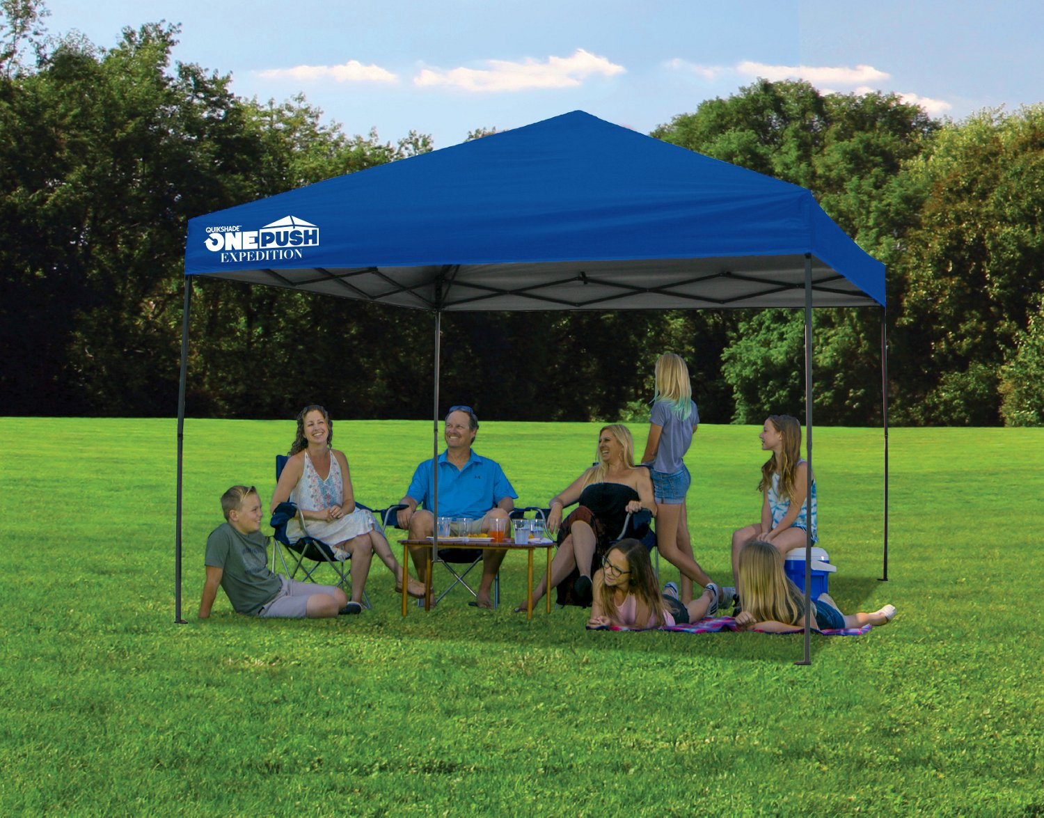 Quik Shade EXP80 Tailgater 8 ft x 10 ft Instant One Push Canopy - view number 2