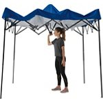 Quik Shade EXP80 Tailgater 8 ft x 10 ft Instant One Push Canopy - view number 1