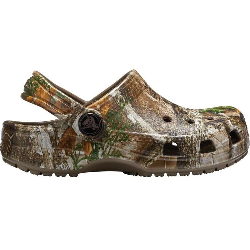Crocs Kids' Classic Realtree Edge Clogs, 8 - Crocs And Rubber Boots at Academy Sports