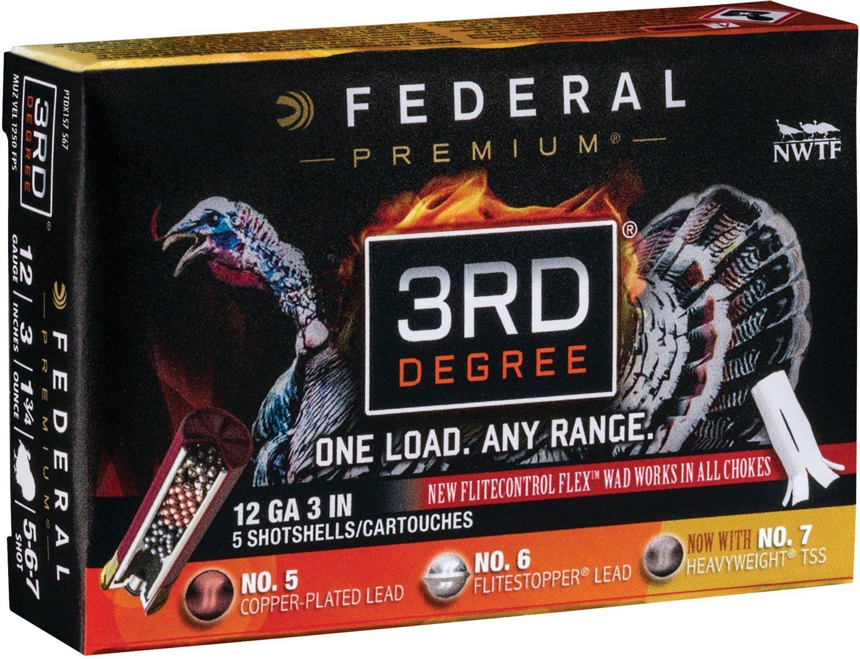 Federal Premium 3rd Degree 12 Gauge Shotshells