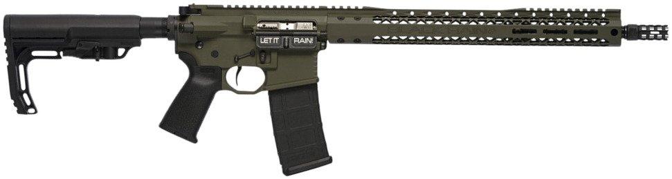 Black Rain Ordinance Recon BRO Scout .223 Remington/5.56 NATO Semiautomatic Rifle