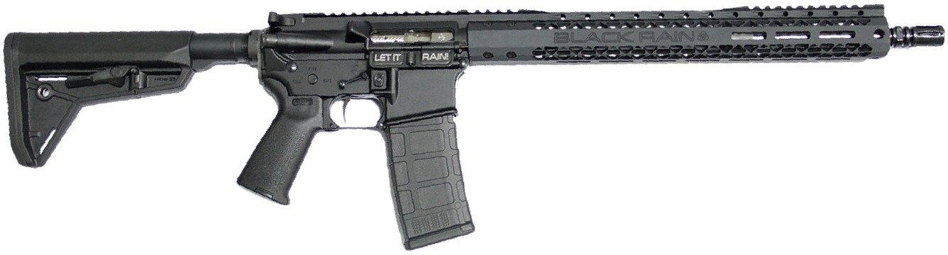 Black Rain Ordinance SOCOM Plus Spec15 .223 Remington/5.56 NATO Semiautomatic Rifle