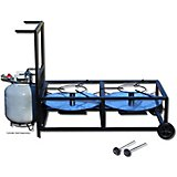 King Kooker Dual-Jet Propane Outdoor Cooker Cart