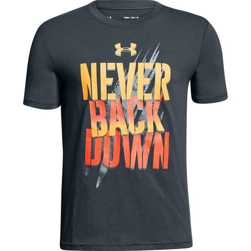 Under Armour Boys' Never Back Down T-shirt