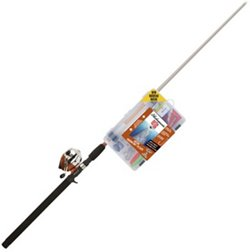 Catch More Fish 6 ft 6 in MH Spincast Rod and Reel Combo