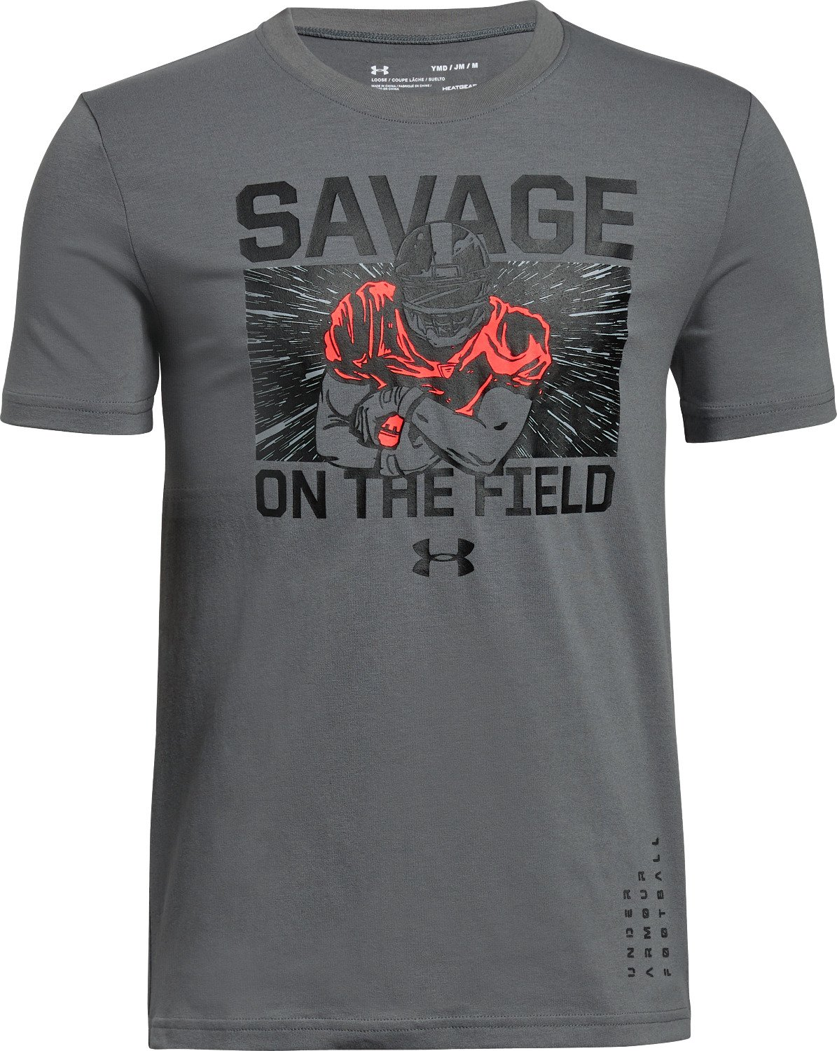 Display Product Reviews For Under Armour Boys Savage On The Field T Shirt