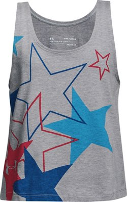 Under Armour Girls' Americana Stars Tank Top