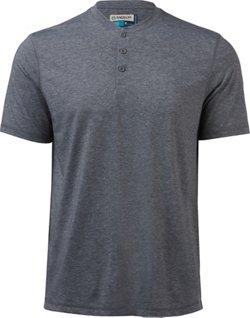Magellan Outdoors Men's Catch and Release Short Sleeve Henley Shirt