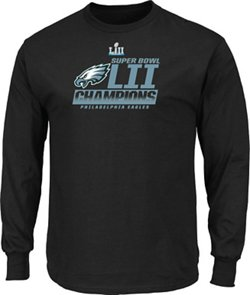 Philadelphia Eagles Men's Super Bowl LII Champions Fanfare Long Sleeve T-Shirt