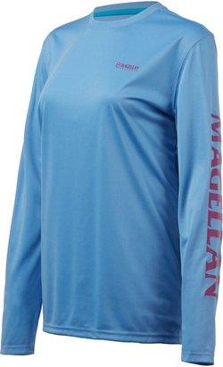 Magellan Outdoors Women's Caddo Lake Logo Crew Long Sleeve T-shirt