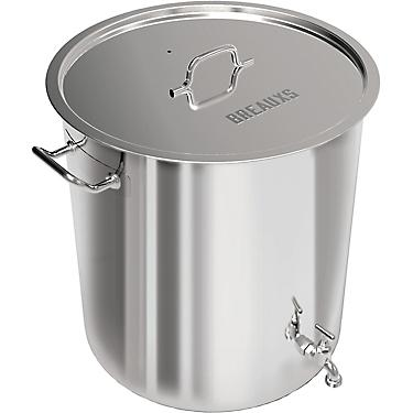 Breaux 80 Qt Stainless Steel Pot With Strainer