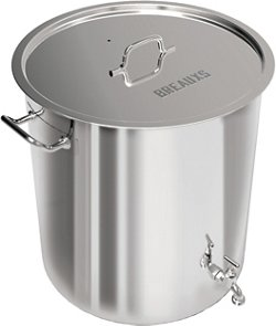 Breauxs 80 qt Stainless-Steel Pot