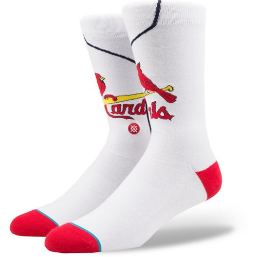 Stance St. Louis Cardinals Home Jersey Crew Socks