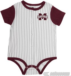 Colosseum Athletics Infant Boys' Mississippi State University Sultan of Swat Baseball Onesie