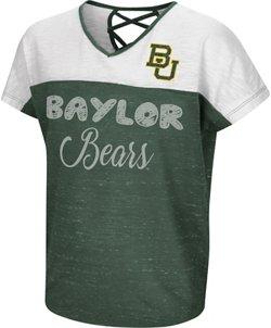 Colosseum Athletics Girls' Baylor University Palledorous Dolman T-shirt