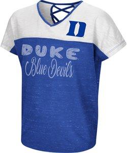 Colosseum Athletics Girls' Duke University Palledorous Dolman T-shirt