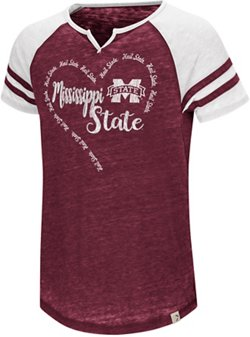 Colosseum Athletics Girls' Mississippi State University The Babe T-shirt