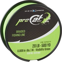 Pro Cat 500 yards Braided Fishing Line