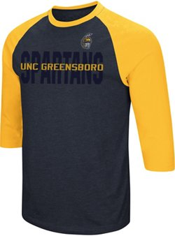 Colosseum Athletics Men's University of North Carolina at Greensboro Steal Home 3/4 Length Sleeve T-