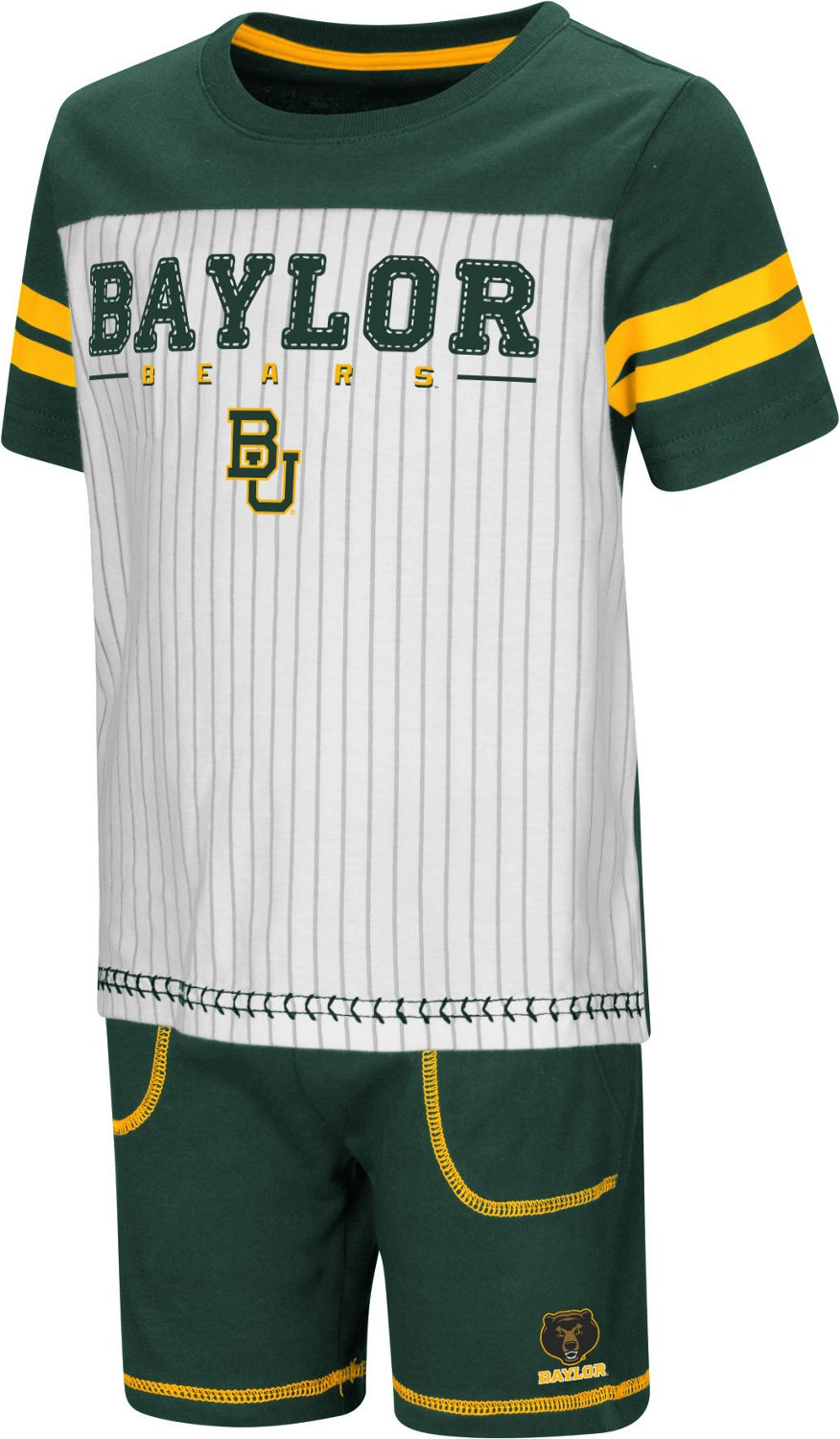 Colosseum Athletics Toddler Boys' Baylor University Great Bambino 2-Piece Set
