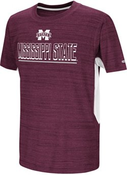 Colosseum Athletics Boys' Mississippi State University Over the Fence T-shirt