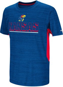 Colosseum Athletics Kids' University of Kansas Over The Fence T-shirt