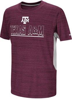 Colosseum Athletics Kids' Texas A&M University Over The Fence T-shirt