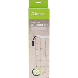 32 ft x 3 ft Steel Cable Volleyball Net