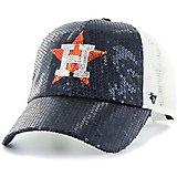 8713a7fa72e56  47 Houston Astros Women s Dazzle Mesh Clean Up Cap