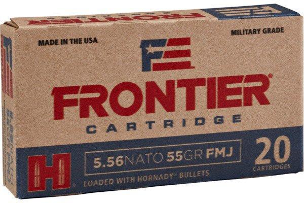 Hornady Frontier 5.56 NATO 55-Grain Centerfire Rifle Ammunition