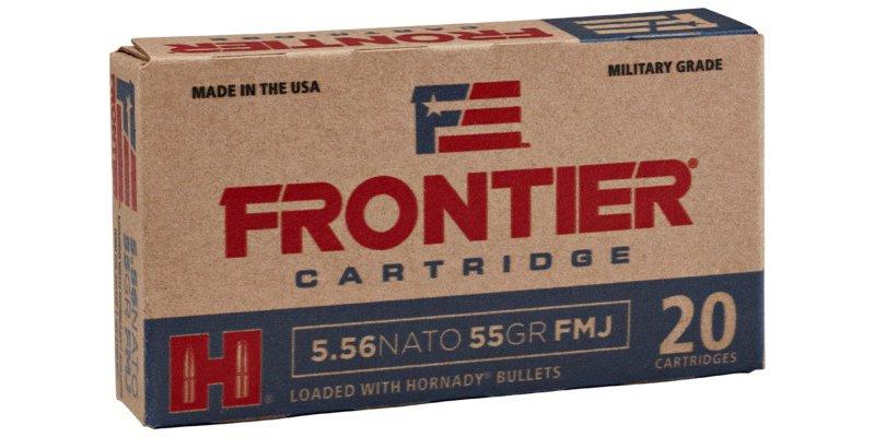 Hornady Frontier 5.56 Nato 55-Grain Centerfire Rifle Ammunition – Rifle Shells at Academy Sports