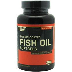 Enteric Coated Fish Oil Softgels