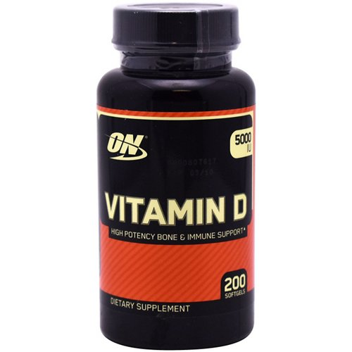 Optimum Nutrition Vitamin-D Softgels