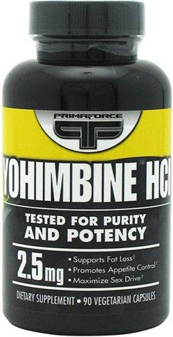PrimaForce Yohimbine HCL Dietary Supplement