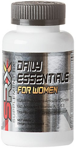 Supplement Rx Daily Essentials For Women Multivitamin Complex Tablets