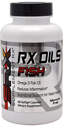 Supplement Rx Oils Omega-3 Fish Oil Capsules