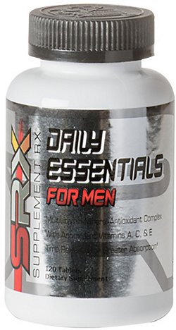 Supplement Rx Daily Essentials For Men Multivitamin Complex Tablets