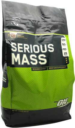 Optimum Nutrition Serious Mass Weight Gain Supplement