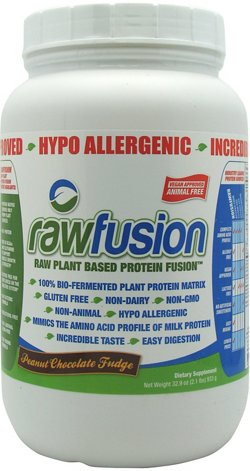 SAN Nutrition Raw Fusion Raw Plant Based Protein Powder