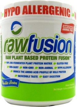 SAN Nutrition RawFusion Raw Plant Based Protein Powder