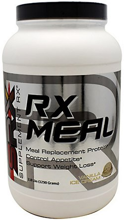 Supplement Rx RX MEAL Protein Powder