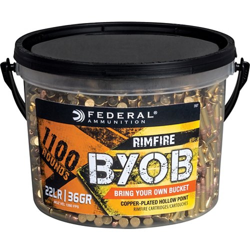 Federal Premium BYOB .22 LR 36-Grain CPHP Rimfire Ammunition