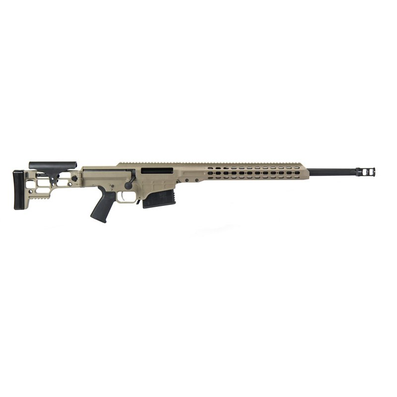 Barrett Firearms Fluted MRAD .338 Lapua Magnum Bolt-Action Tactical Rifle - Rifles Center Fire at Academy Sports thumbnail