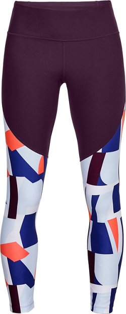 Under Armour Women's Vanish Printed Crop Studio Leggings