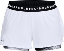Under Armour Women's 2-in-1 Printed Shorts