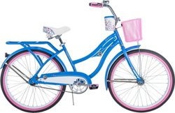Huffy Girls' Deluxe 24 in Cruiser Bicycle